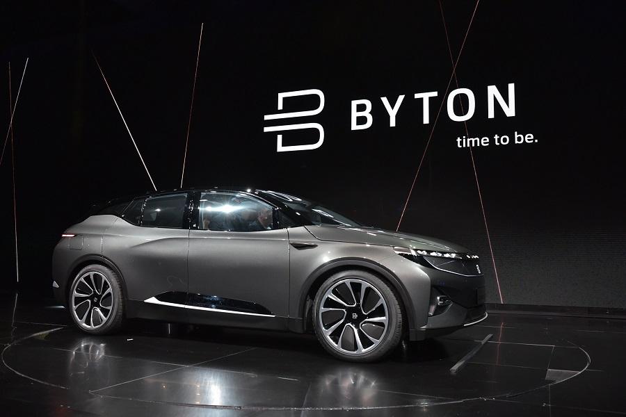 拜腾汽车C轮5亿美元融资终于到位,预计明年首款车型量产