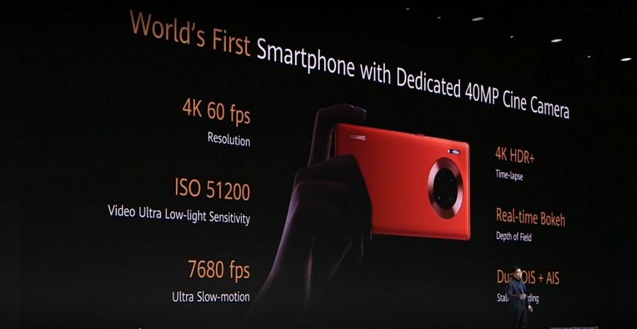 登顶机皇不是梦!华为Mate30发布,电影级摄像头,内置14根5G天线,最高售价16448元!