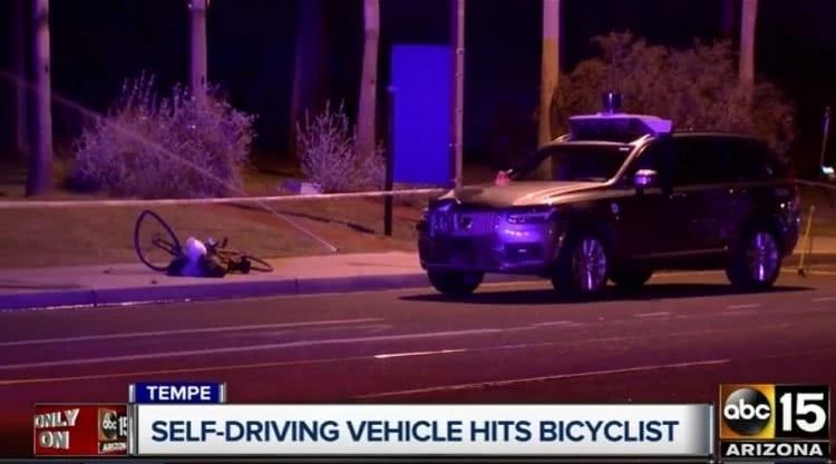 Uber自动驾驶致死案最新调查结果:不能识别走在人行横道外的行人