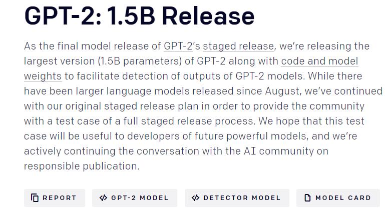 编故事神器的完整版代码来了!OpenAI不保证不被滥用
