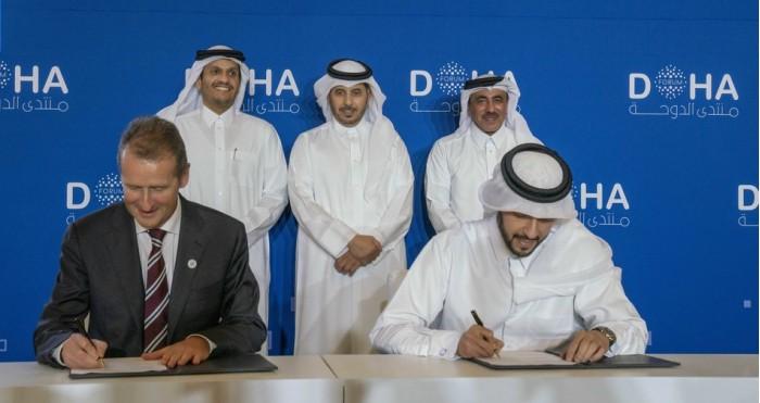 大眾牽手卡塔爾,計劃于2022年底前推出自動駕駛汽車服務