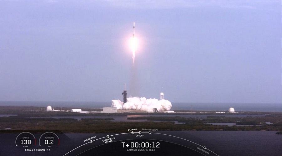 史上最贵的二踢脚,马斯克花3.4亿元炸了架火箭,以测试载人飞船逃生系统