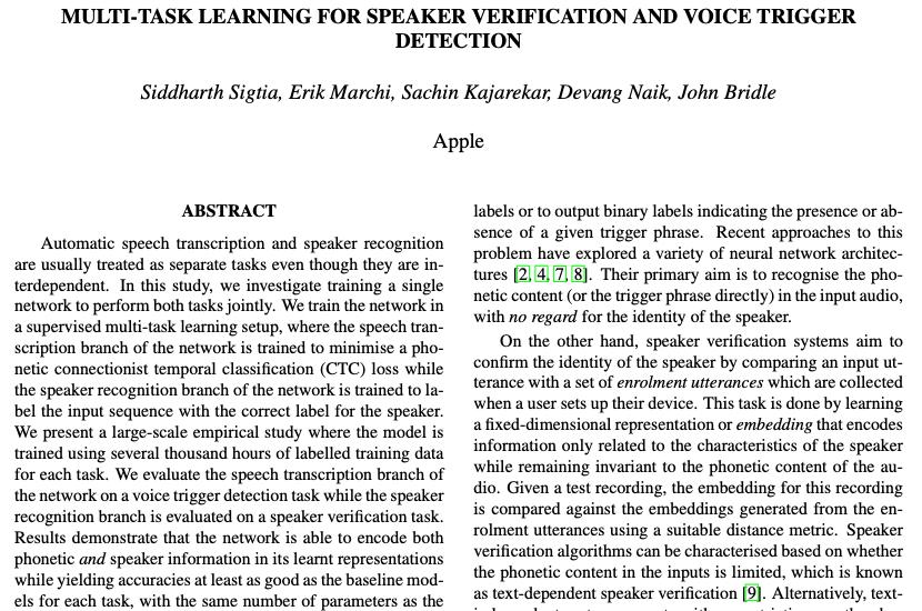 揭秘Siri,苹果发布论文阐释语音助手设计想法