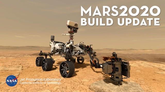 """不受疫情影響,NASA將在今年7月發射火星探測器""""毅力號"""""""