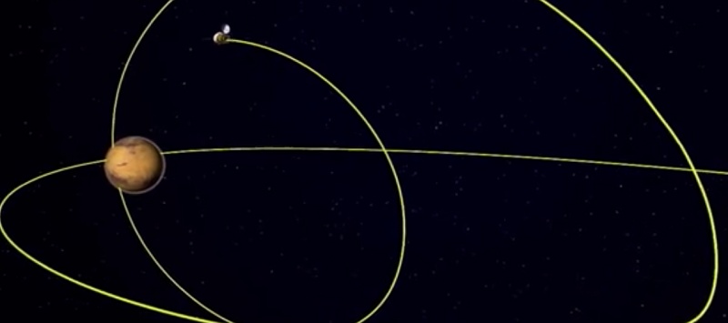 """天问一号!我国火星探测任务正式命名,探测标识为""""揽星九天"""""""