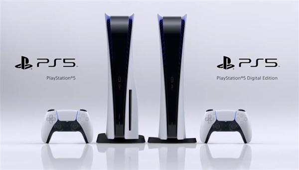 索尼公布PS5主機真容,1秒內就可啟動游戲
