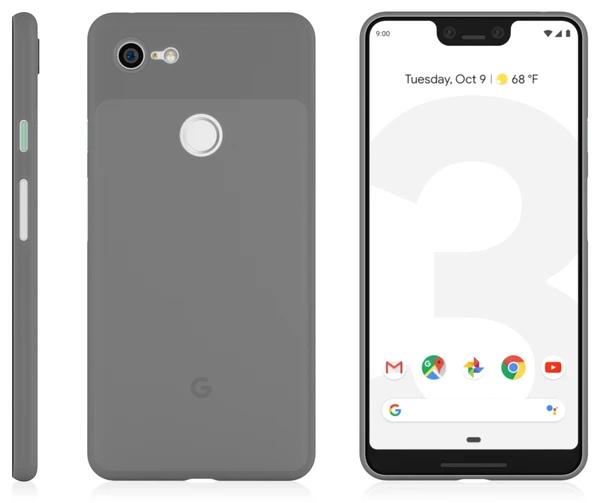 谷歌首款5G手机Pixel 5 XL曝光:后指纹+刘海屏