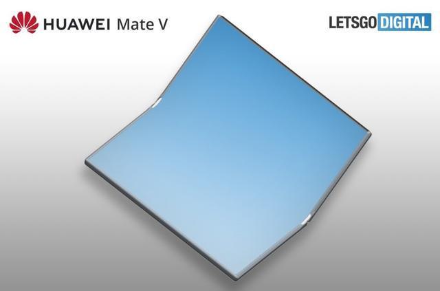 华为全新折叠屏产品Mate V曝光,对标三星