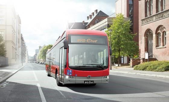 比亚迪动作不断,新获芬兰106台纯电动巴士订单