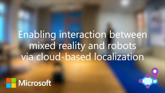 微软新研究成果:通过混合现实增强人与机器人自然交互