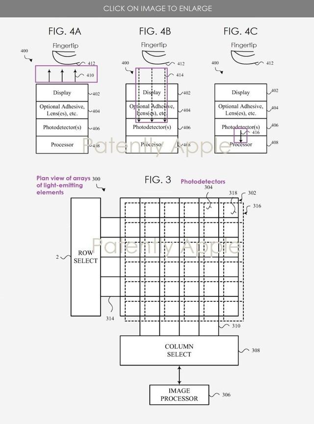 苹果屏下Face ID新专利曝光,或有望消除刘海屏