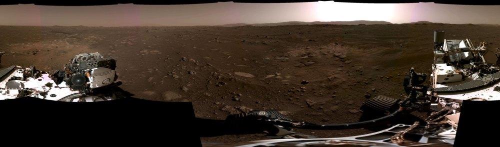 """还原""""恐怖七分钟"""":NASA 发布毅力号登陆火星视频"""