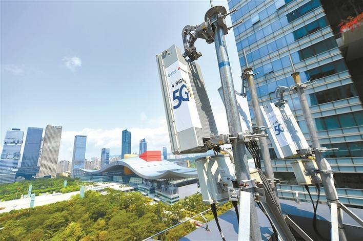 中国5G网络建设累积投资超2600亿,已建成5G基站71.8万个