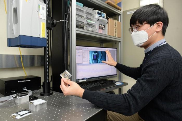 韩国科学家开发全新LED技术,可实现局部振动