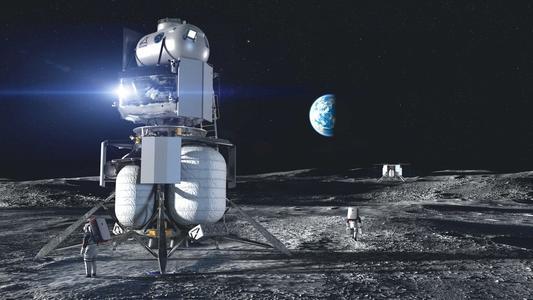 马斯克中标NASA登月项目,两大竞争对手全部出局