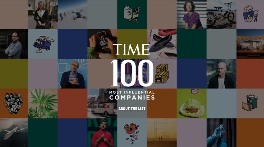 《时代》首次评选全球100大最具影响力企业:华为、阿里、腾讯、台积电上榜