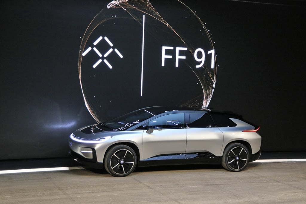 这回是真的?法拉第官宣:贾跃亭的FF91即将量产