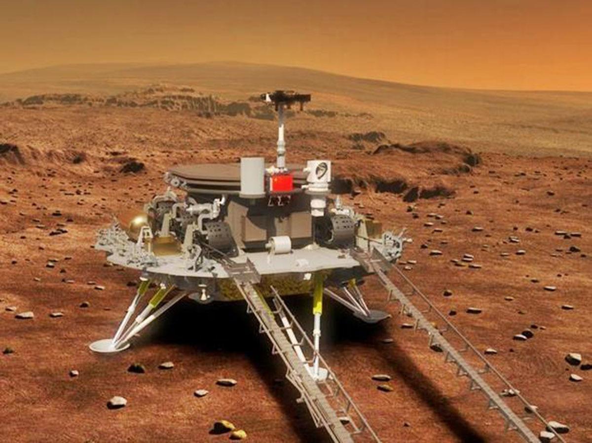 中国火星之旅里程碑,工作75天的祝融号,又迎来一次新挑战,