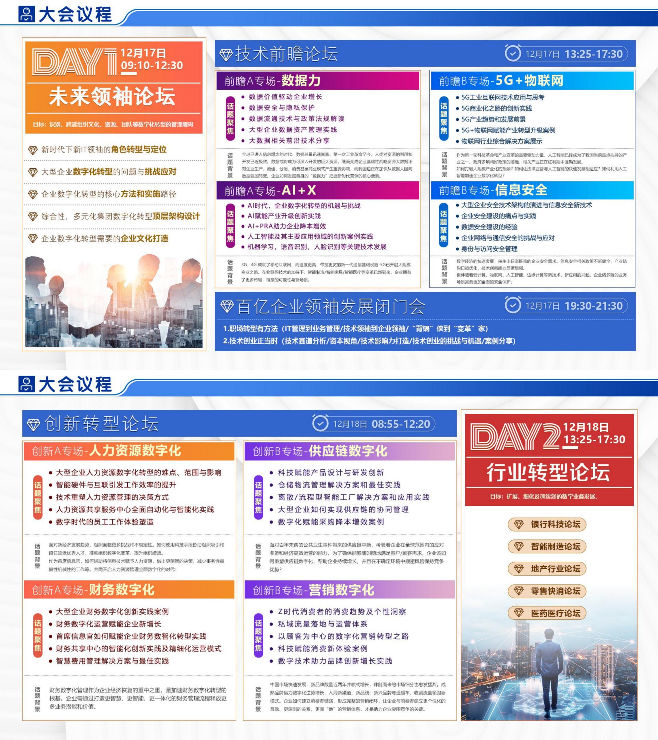 重磅!2021首届中国企业数字化转型领袖峰会将与您相聚上海!