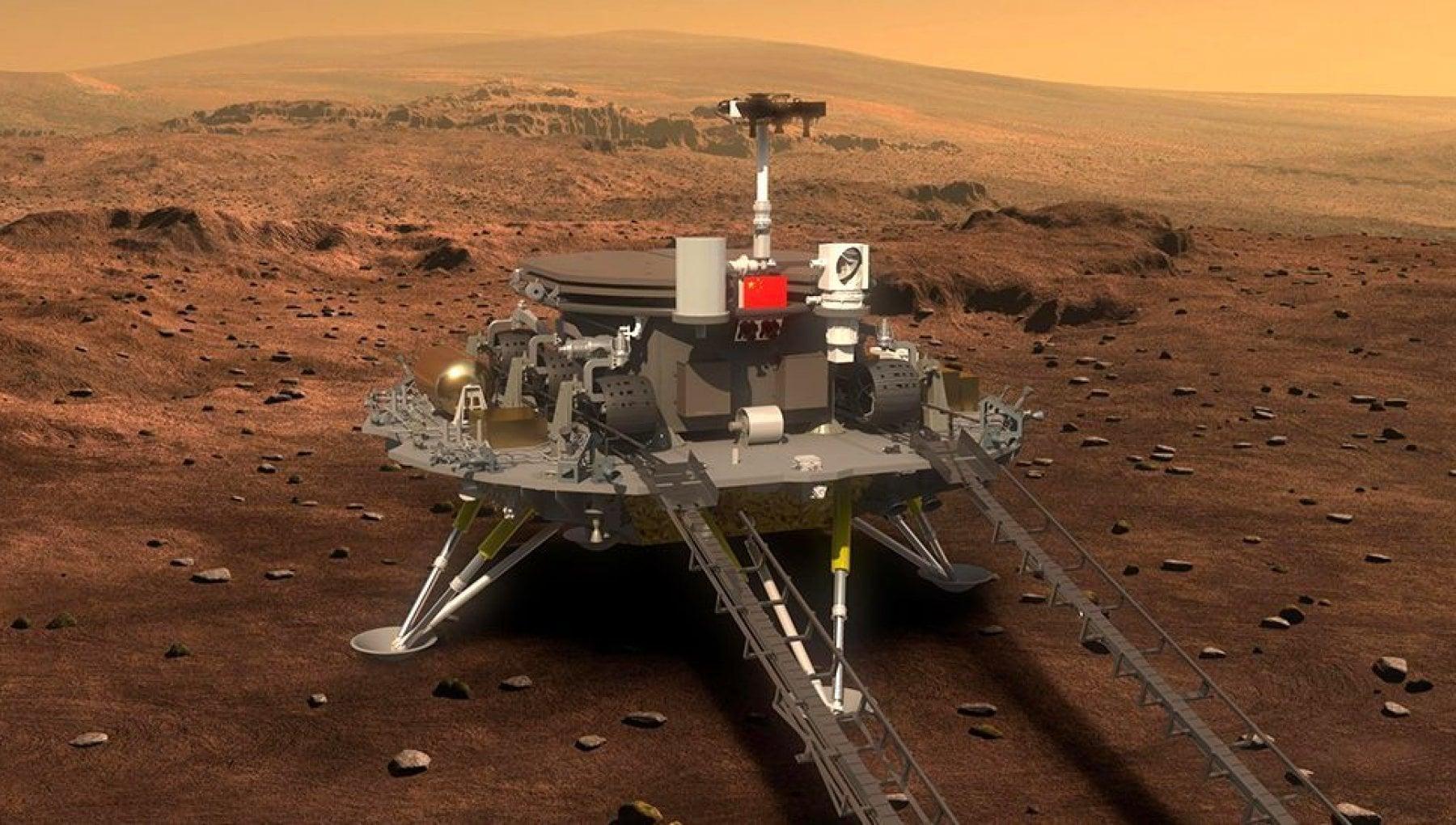 """火星上也放假?中国""""祝融号""""将迎来30天以上悠闲长假,网友:羡慕坏了"""