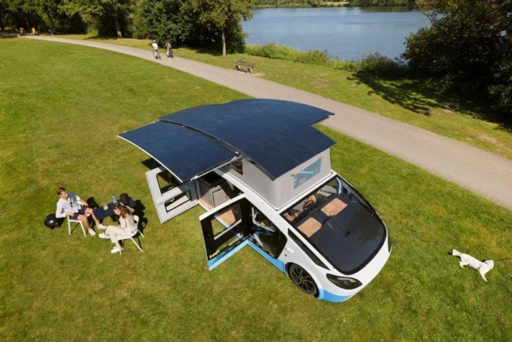 太阳能房车来了,夜间续航可达600公里!