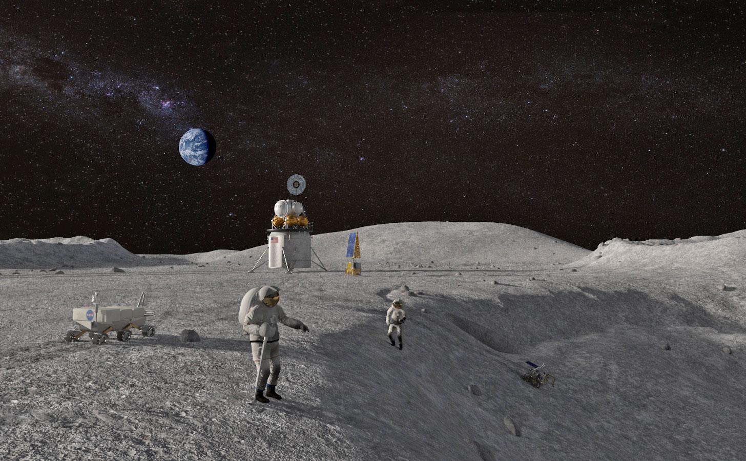 按闹分配成功!贝索斯喜获NASA的2500万美元订单,马斯克仅得940万