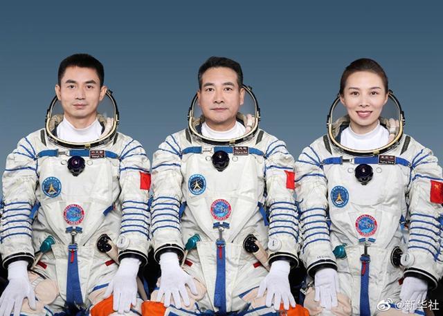 """刚刚,神舟十三号宇航员名单公布了!这次有女宇航员,也有""""新手""""!"""
